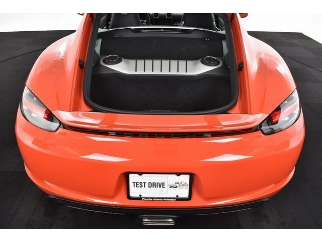 New 2018 Porsche 718 Cayman