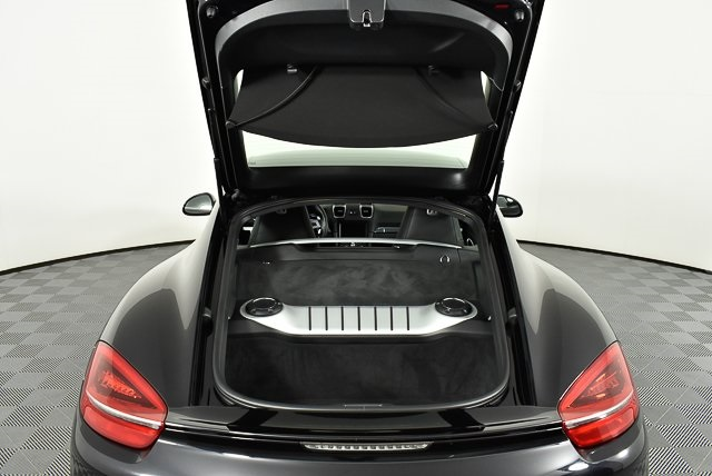 Certified Pre-Owned 2016 Porsche Cayman Black Edition