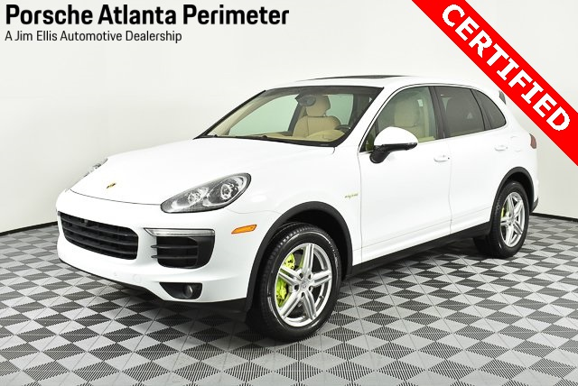 Certified Pre Owned 2017 Porsche Cayenne S Hybrid