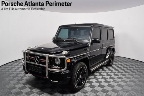 Pre-Owned 2014 Mercedes-Benz G-Class G 63 AMG