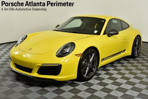 Certified Pre-Owned 2019 Porsche 911 Carrera T